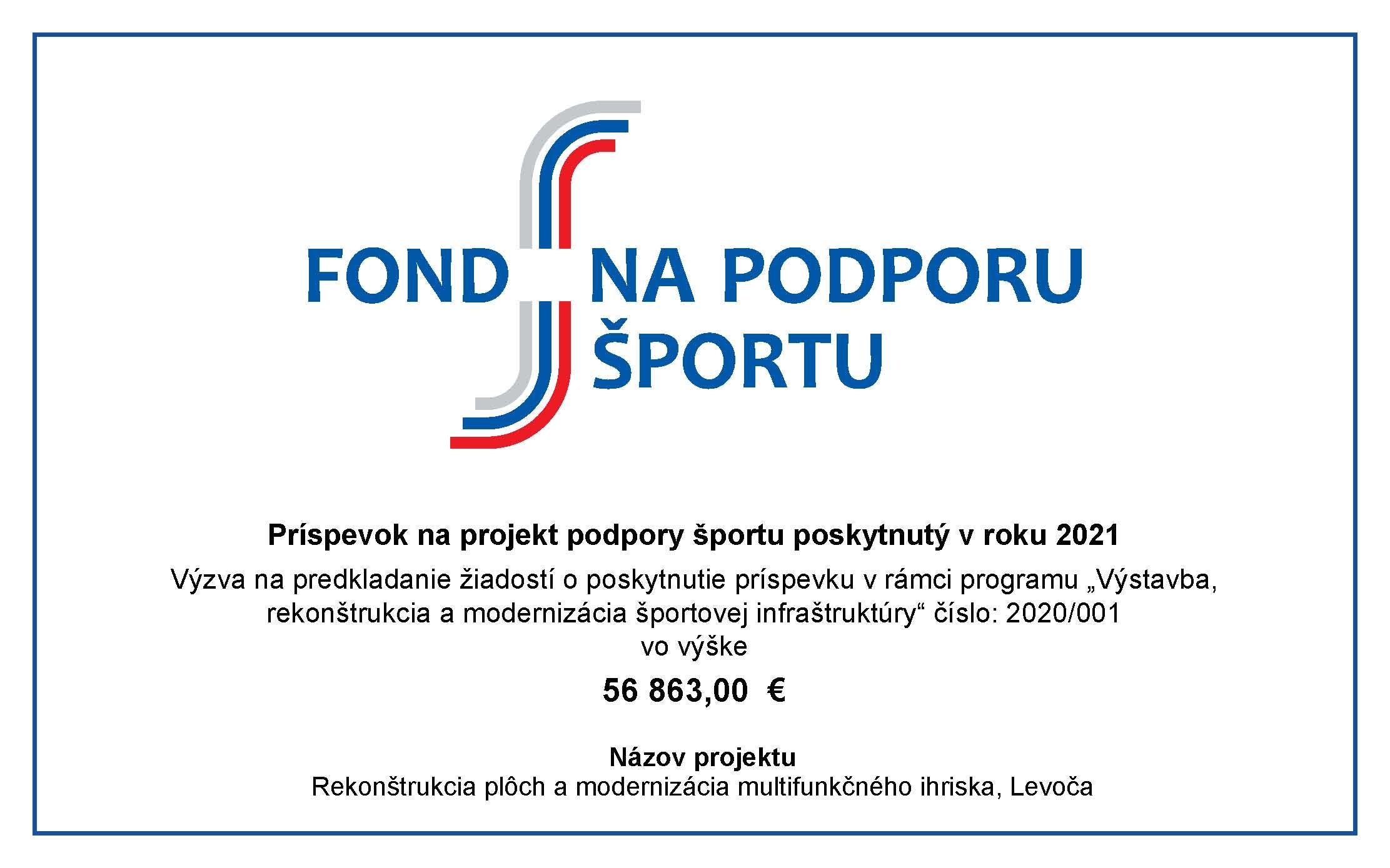 Fond na podporu športu